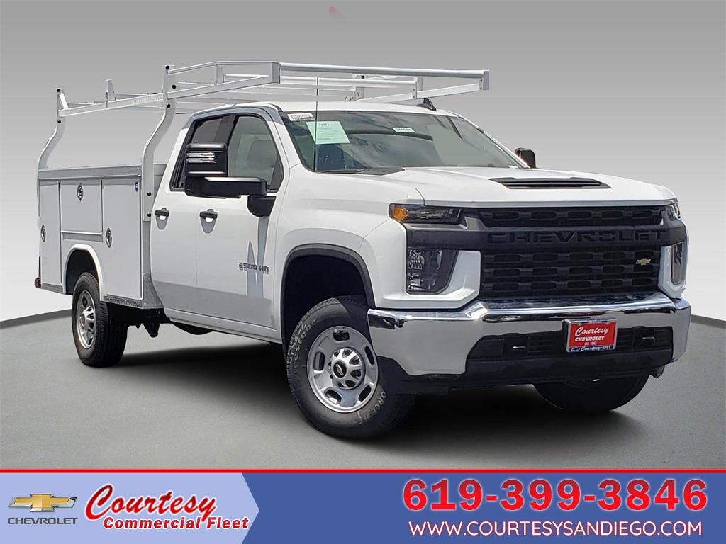 2021 Chevrolet Silverado 2500 Double Cab 4x2, Royal Truck Body Service Body #211162 - photo 1