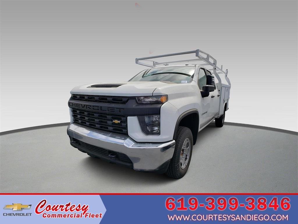 2021 Chevrolet Silverado 2500 Double Cab 4x2, Royal Truck Body Service Body #211165 - photo 1
