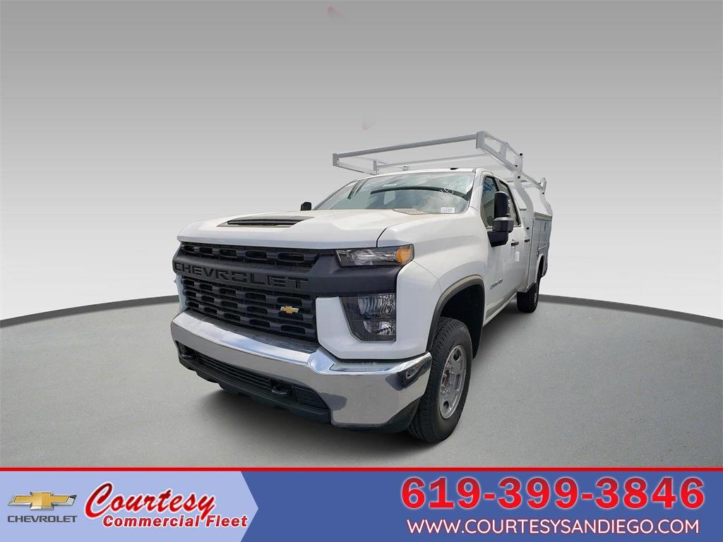 2021 Chevrolet Silverado 2500 Double Cab 4x2, Royal Truck Body Service Body #211166 - photo 1