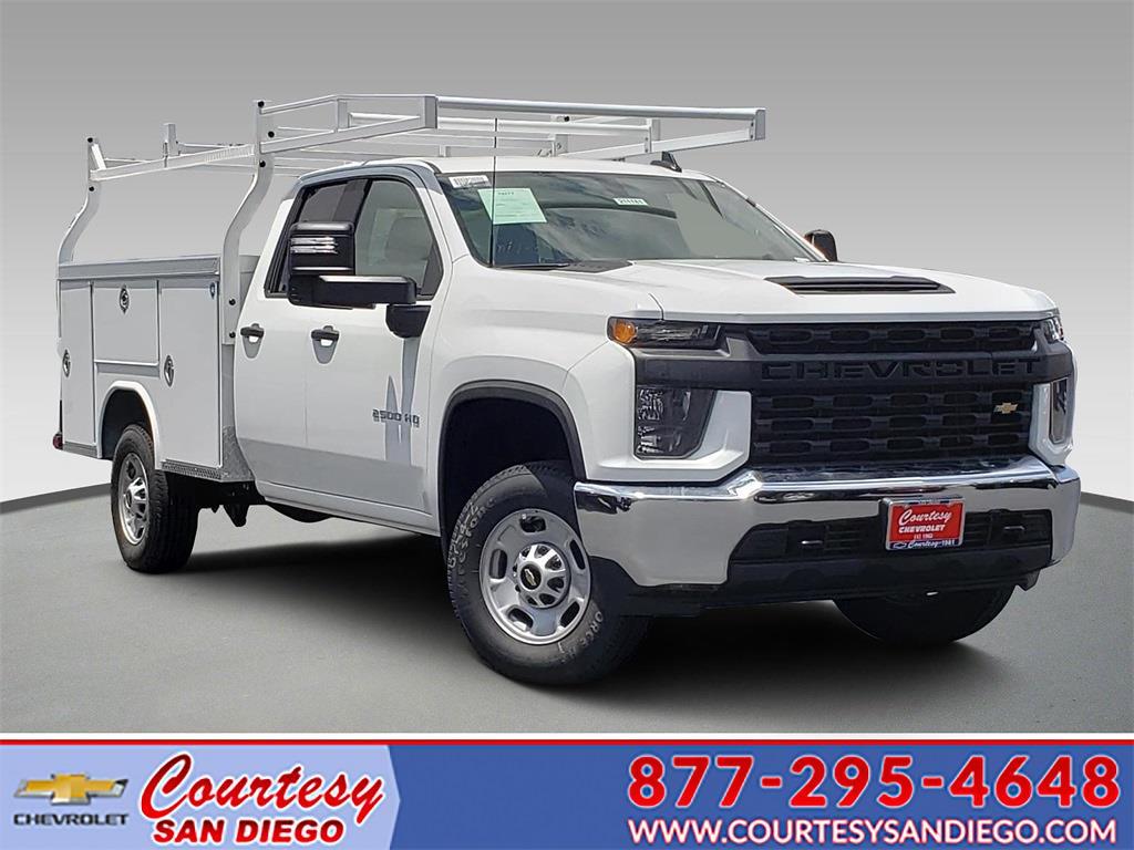 2021 Chevrolet Silverado 2500 Double Cab 4x2, Royal Truck Body Service Body #211181 - photo 1