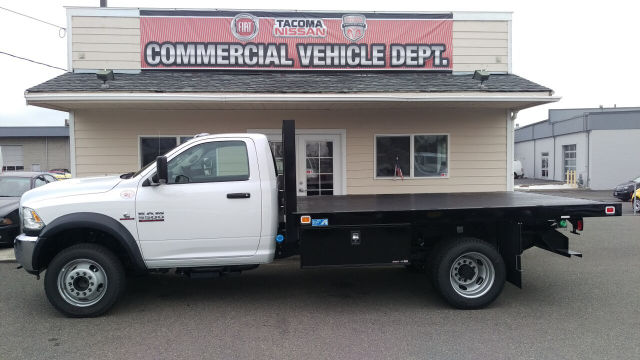 2015 Ram 5500 Regular Cab DRW 4x4, Knapheide Platform Body #R150488 - photo 3