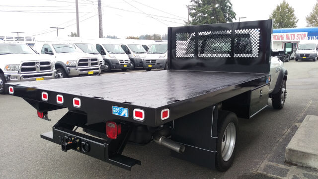 2015 Ram 5500 Regular Cab DRW 4x4, Knapheide Platform Body #R150488 - photo 6
