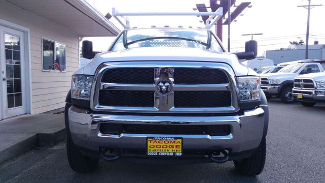 2016 Ram 5500 Regular Cab DRW 4x4, Harbor Contractor Body #R160488 - photo 7