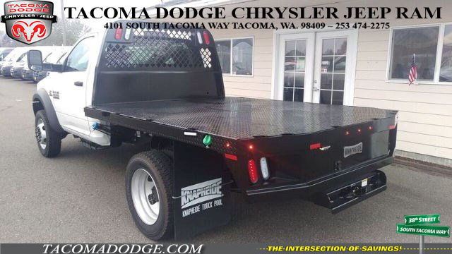 2016 Ram 4500 Regular Cab DRW 4x4, Knapheide Platform Body #R160711 - photo 2