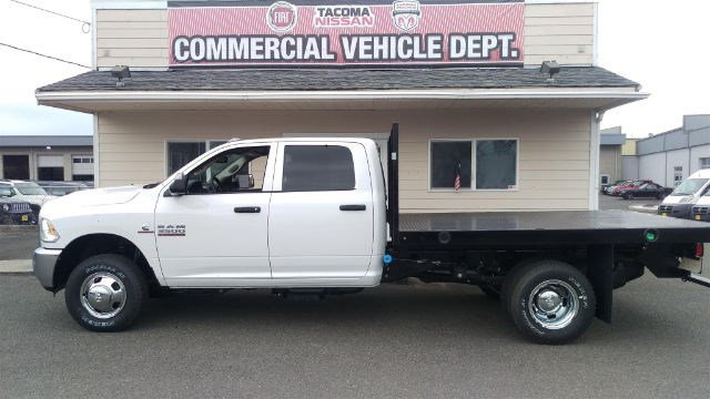 2016 Ram 3500 Crew Cab DRW 4x4, Platform Body #R160736 - photo 2