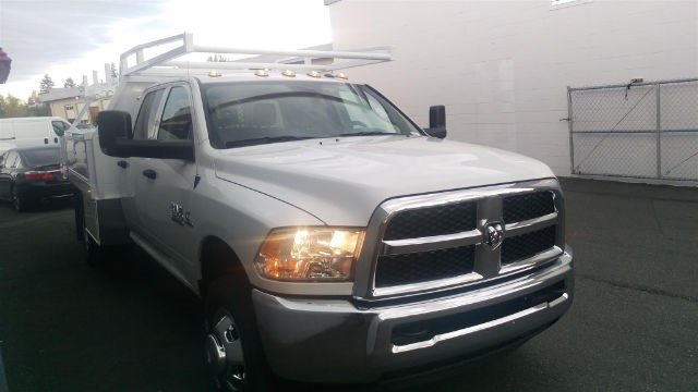 2016 Ram 3500 Crew Cab DRW 4x4, Contractor Body #R160737 - photo 6