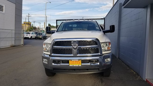2017 Ram 3500 Regular Cab DRW 4x4,  Allied Platform Body #R170097 - photo 5