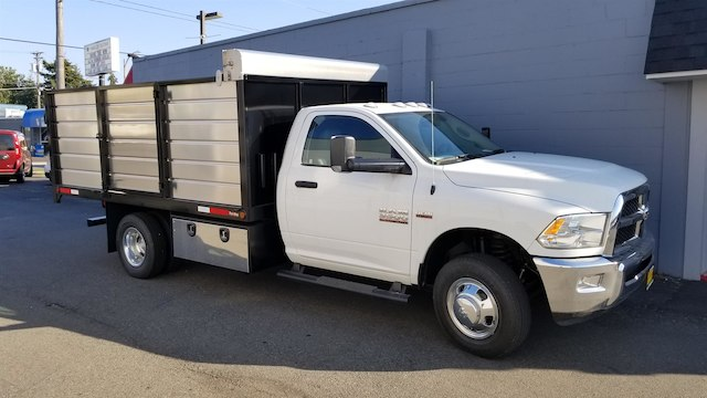 2017 Ram 3500 Regular Cab DRW 4x2,  The Fab Shop Landscape Dump #R170128 - photo 3