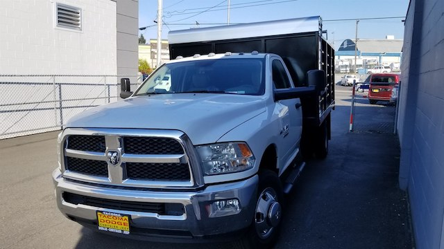 2017 Ram 3500 Regular Cab DRW 4x2,  The Fab Shop Landscape Dump #R170128 - photo 1