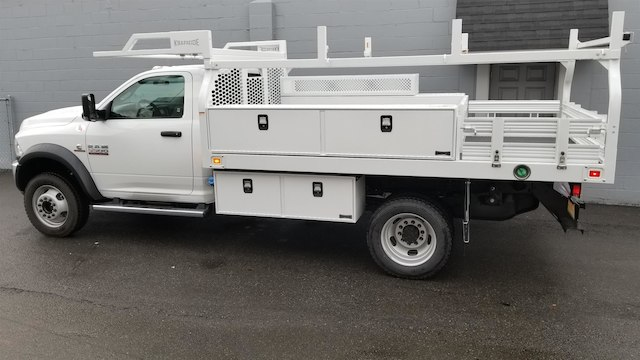 2017 Ram 5500 Regular Cab DRW 4x4,  Knapheide Contractor Body #R170591 - photo 4