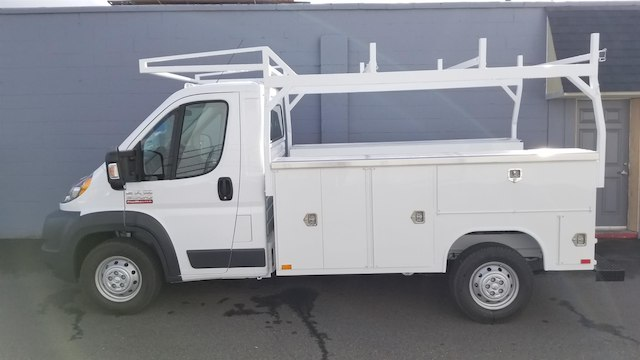 2017 ProMaster 3500 Standard Roof FWD,  Harbor TradeMaster Service Body #R170593 - photo 3