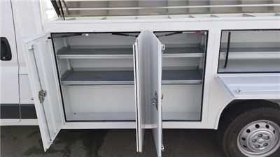 2017 ProMaster 3500 Standard Roof FWD,  Harbor TradeMaster Service Body #R170593 - photo 4