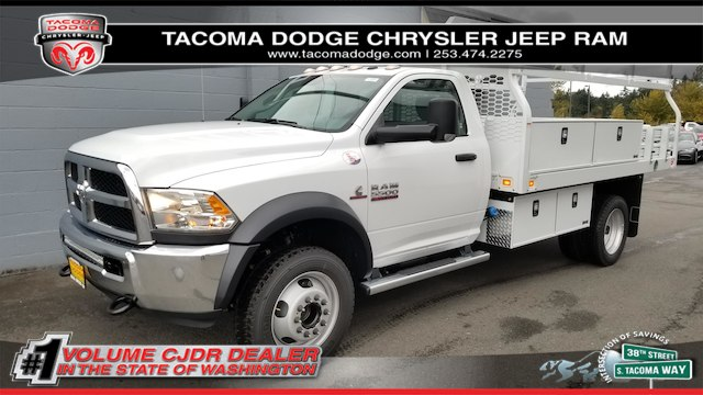 2017 Ram 5500 Regular Cab DRW 4x4,  Knapheide Contractor Bodies Contractor Body #R170595 - photo 1