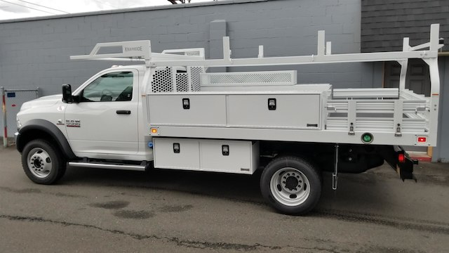 2017 Ram 5500 Regular Cab DRW 4x4,  Knapheide Contractor Body #R170595 - photo 3