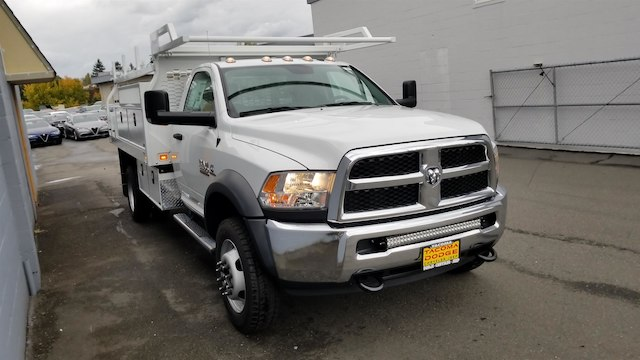 2017 Ram 5500 Regular Cab DRW 4x4,  Knapheide Contractor Body #R170595 - photo 6