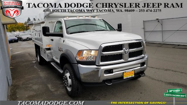 2017 Ram 5500 Regular Cab DRW 4x4, Knapheide Contractor Bodies Contractor Body #R170595 - photo 6