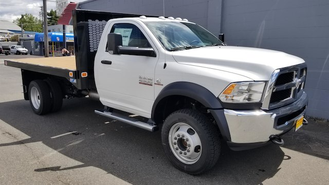2017 Ram 4500 Regular Cab DRW 4x4,  Knapheide Value-Master X Platform Body #R170677 - photo 3