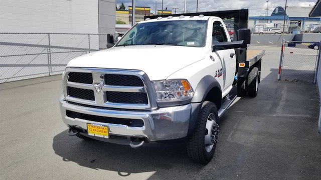 2017 Ram 4500 Regular Cab DRW 4x4,  Knapheide Platform Body #R170677 - photo 5