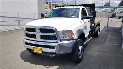 2017 Ram 4500 Regular Cab DRW 4x4,  Knapheide Value-Master X Platform Body #R170677 - photo 5