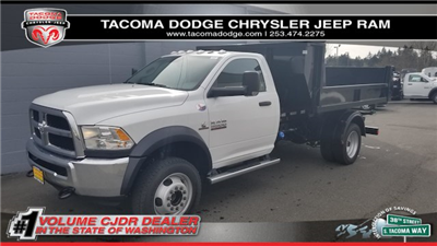 2018 Ram 5500 Regular Cab DRW 4x4, Switch N Go Dump Body #R180051 - photo 1