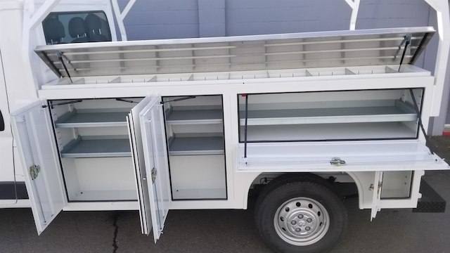 2018 ProMaster 3500 Standard Roof FWD,  Harbor TradeMaster Service Body #R180058 - photo 5