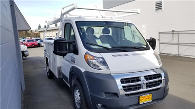 2018 ProMaster 3500 Standard Roof FWD,  Harbor TradeMaster Service Body #R180058 - photo 1
