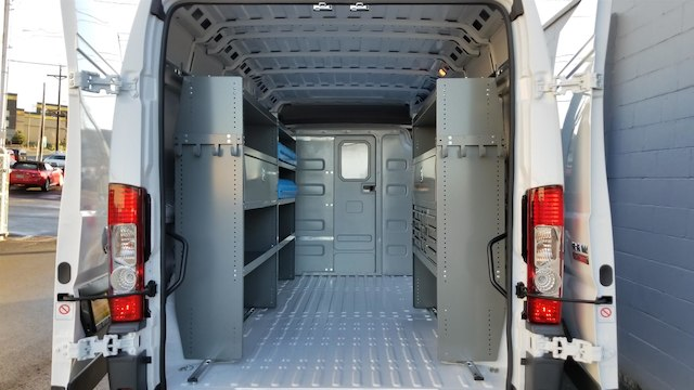 2018 ProMaster 3500 High Roof, Adrian Steel General Service Cargo Van Upfit #R180075 - photo 2
