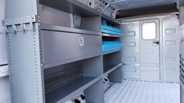 2018 ProMaster 3500 High Roof, Adrian Steel General Service Cargo Van Upfit #R180075 - photo 9