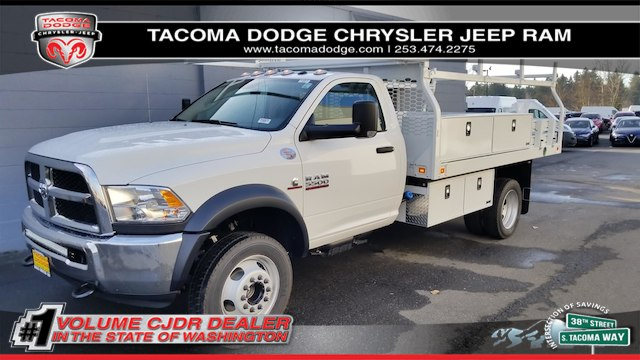 2018 Ram 5500 Regular Cab DRW 4x2,  Knapheide Contractor Body #R180079 - photo 1