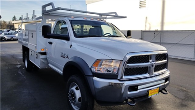 2018 Ram 5500 Regular Cab DRW 4x2,  Knapheide Contractor Body #R180079 - photo 6