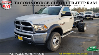 2018 Ram 5500 Regular Cab DRW 4x4 Cab Chassis #R180088 - photo 1