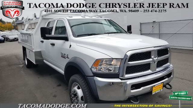 2018 Ram 5500 Crew Cab DRW 4x4, Harbor Standard Contractor Contractor Body #R180094 - photo 1