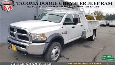 2018 Ram 5500 Crew Cab DRW 4x4, Harbor Standard Contractor Contractor Body #R180094 - photo 3