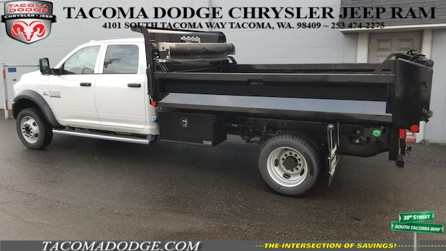 2018 Ram 5500 Crew Cab DRW 4x4, Knapheide Drop Side Dump Bodies Dump Body #R180101 - photo 2