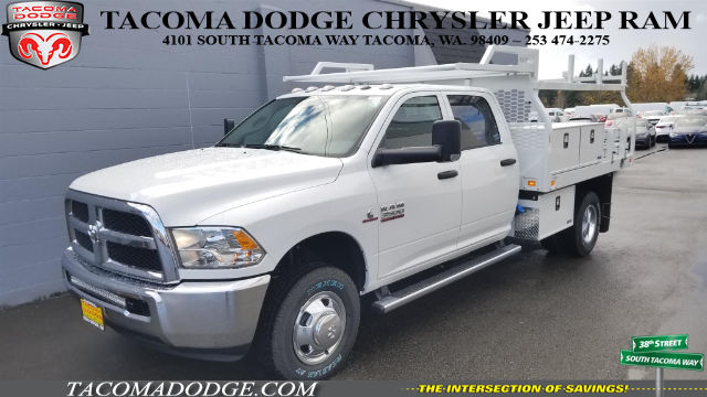 2018 Ram 3500 Crew Cab DRW 4x4, Knapheide Contractor Bodies Contractor Body #R180103 - photo 1