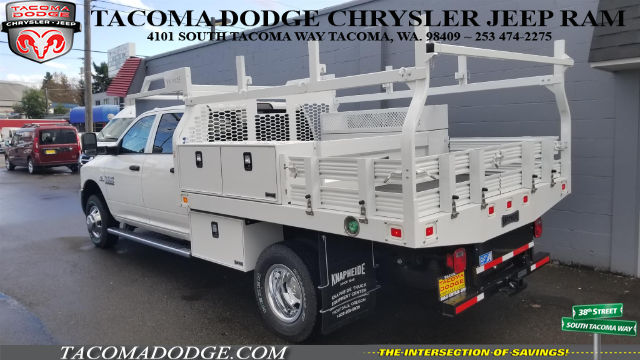 2018 Ram 3500 Crew Cab DRW 4x4, Knapheide Contractor Bodies Contractor Body #R180103 - photo 2