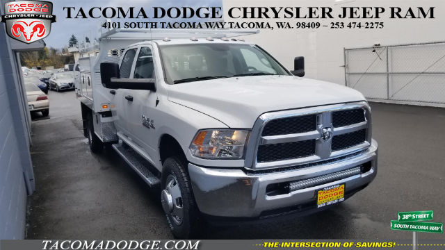 2018 Ram 3500 Crew Cab DRW 4x4, Knapheide Contractor Bodies Contractor Body #R180103 - photo 6