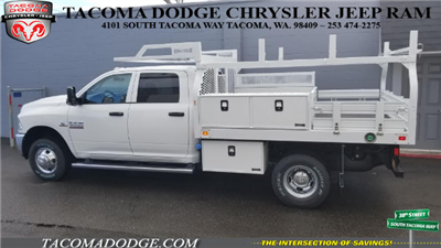 2018 Ram 3500 Crew Cab DRW 4x4, Knapheide Contractor Bodies Contractor Body #R180103 - photo 3
