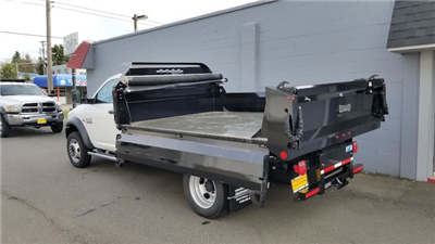 2018 Ram 5500 Regular Cab DRW 4x4, Knapheide Drop Side Dump Bodies Dump Body #R180176 - photo 2