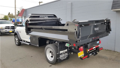 2018 Ram 5500 Regular Cab DRW 4x4, Knapheide Drop Side Dump Bodies Dump Body #R180176 - photo 4