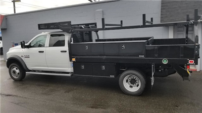 2018 Ram 5500 Crew Cab DRW 4x4, Knapheide Concrete Bodies Contractor Body #R180178 - photo 3