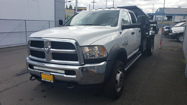 2018 Ram 5500 Crew Cab DRW 4x4, Knapheide Dump Body #R180240 - photo 2