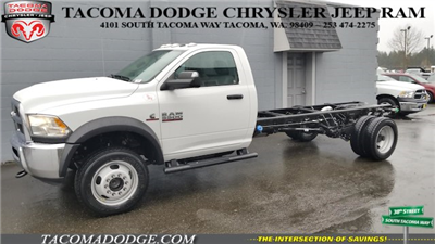 2018 Ram 5500 Regular Cab DRW 4x4, Cab Chassis #R180250 - photo 1