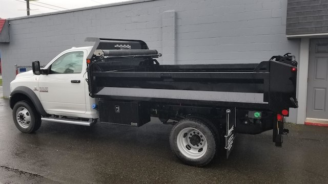 2018 Ram 5500 Regular Cab DRW 4x4, Knapheide Drop Side Dump Bodies Dump Body #R180273 - photo 2