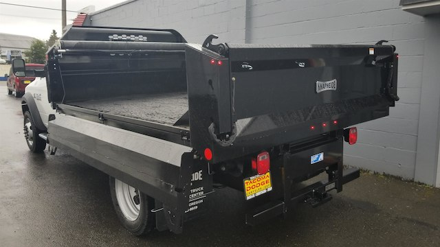 2018 Ram 5500 Regular Cab DRW 4x4, Knapheide Drop Side Dump Bodies Dump Body #R180273 - photo 7