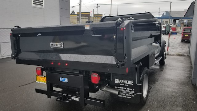 2018 Ram 5500 Regular Cab DRW 4x4, Knapheide Dump Body #R180273 - photo 9