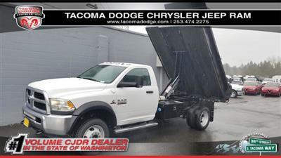 2018 Ram 5500 Regular Cab DRW 4x4, Knapheide Drop Side Dump Bodies Dump Body #R180273 - photo 1