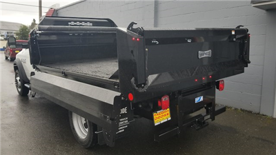 2018 Ram 5500 Regular Cab DRW 4x4,  Knapheide Drop Side Dump Body #R180273 - photo 8