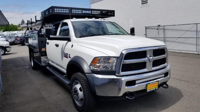 2018 Ram 5500 Crew Cab DRW 4x4,  Knapheide Contractor Body #R180348 - photo 7
