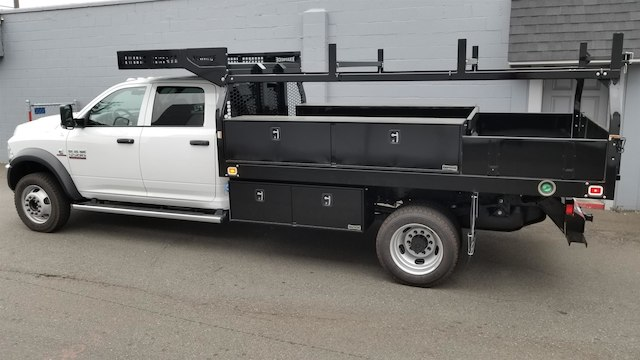 2018 Ram 5500 Crew Cab DRW 4x4,  Knapheide Contractor Body #R180361 - photo 3